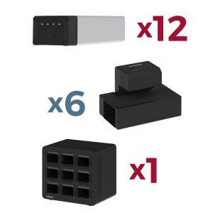 Constant Use Bundle - KwikBoost EdgePower™ Desktop Charging Station System