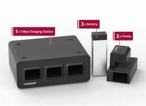 Light Use Bundle - KwikBoost EdgePower™ Desktop Charging Station System
