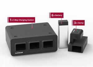 Medium Use Bundle - KwikBoost EdgePower™ Desktop Charging Station System