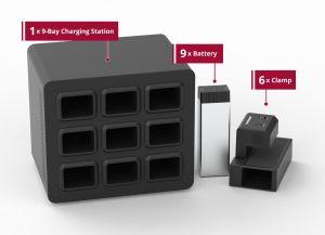 Heavy Use Bundle - KwikBoost EdgePower™ Desktop Charging Station System