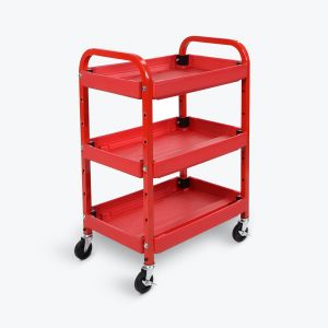 Adjustable Utility Cart - Three Shelves