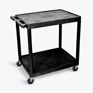 Utility Cart - Two Shelves Structural Foam Plastic
