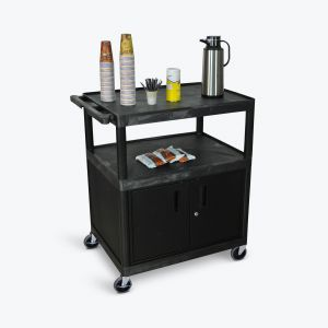 Large Coffee Cart - Cabinet