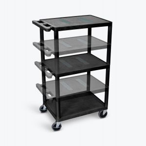 Multi-Height AV Cart - Three Shelves