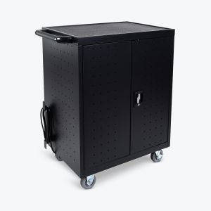 32-Laptop / Chromebook Charging Cart with Timer