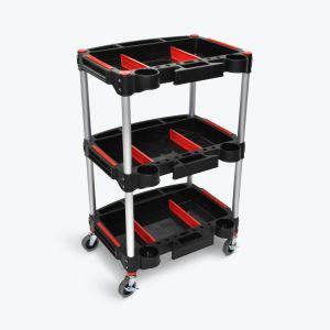 Mechanic's Three-Shelf Cart