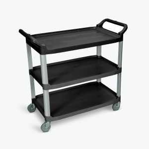 Large Serving Cart - Three Shelves