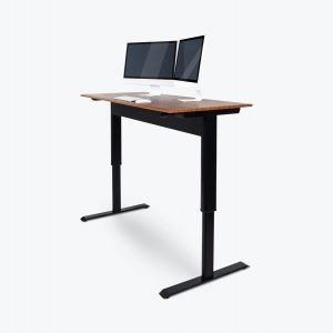 Pneumatic Adjustable-Height Standing Desk