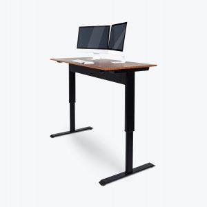 Pneumatic Adjustable-Height Standing Desk