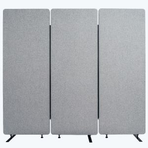 RECLAIM Acoustic Room Dividers - 3 Pack in Misty Gray