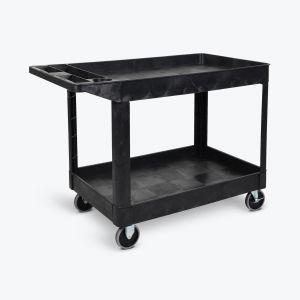 Two-Shelf Heavy-Duty Utility Cart