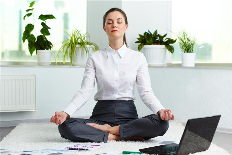 Stressed? Practice Mindfulness Working From Home